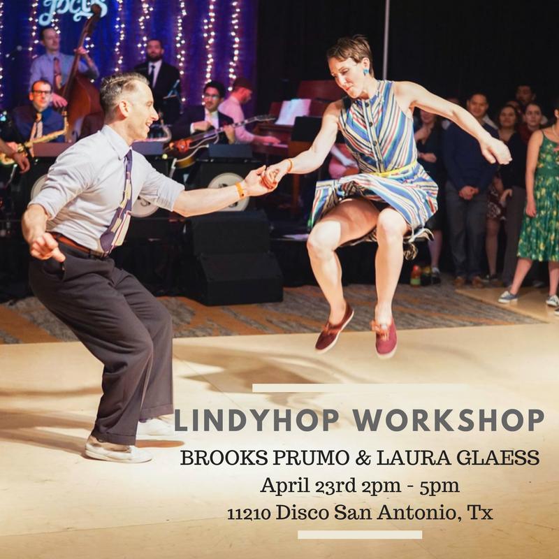 Lindyhop Workshop April 23rd