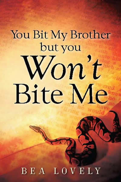 You Bit My Brother But You Won't Bite Me 9781562292065