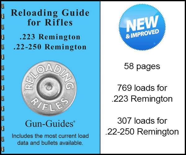 Reloading Guide Rifles - .223 Remington and 22-250 ...