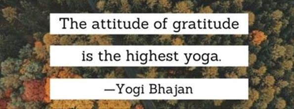 Restorative Gratitude Class