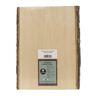 Basswood Rustic Country Plank Medium - 13