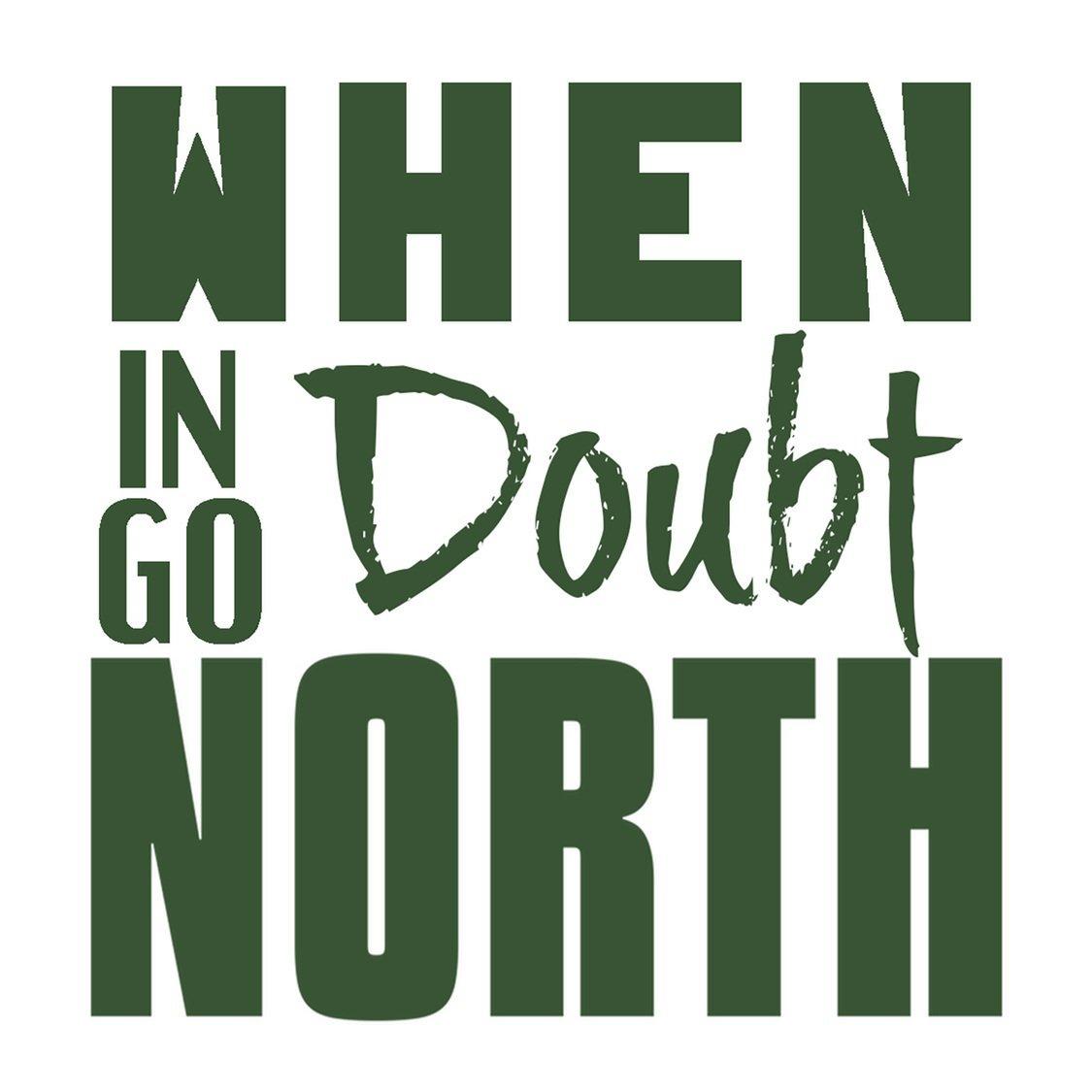 Go North Sticker