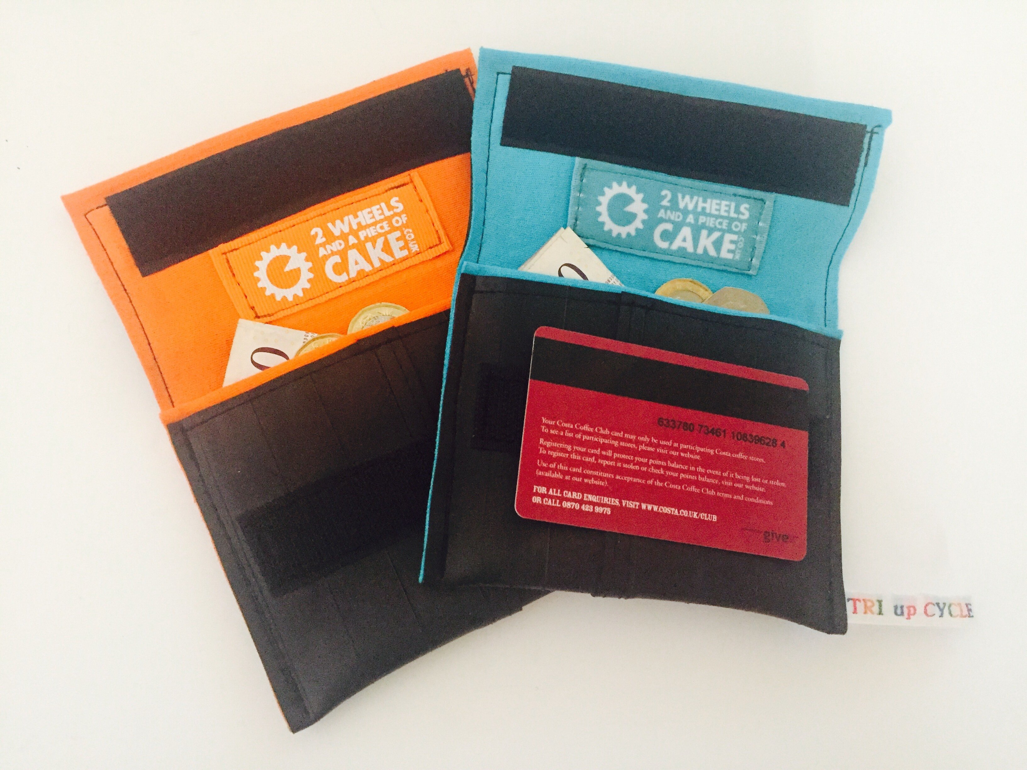 Up-cycled Inner Tube - Cafe Wallet