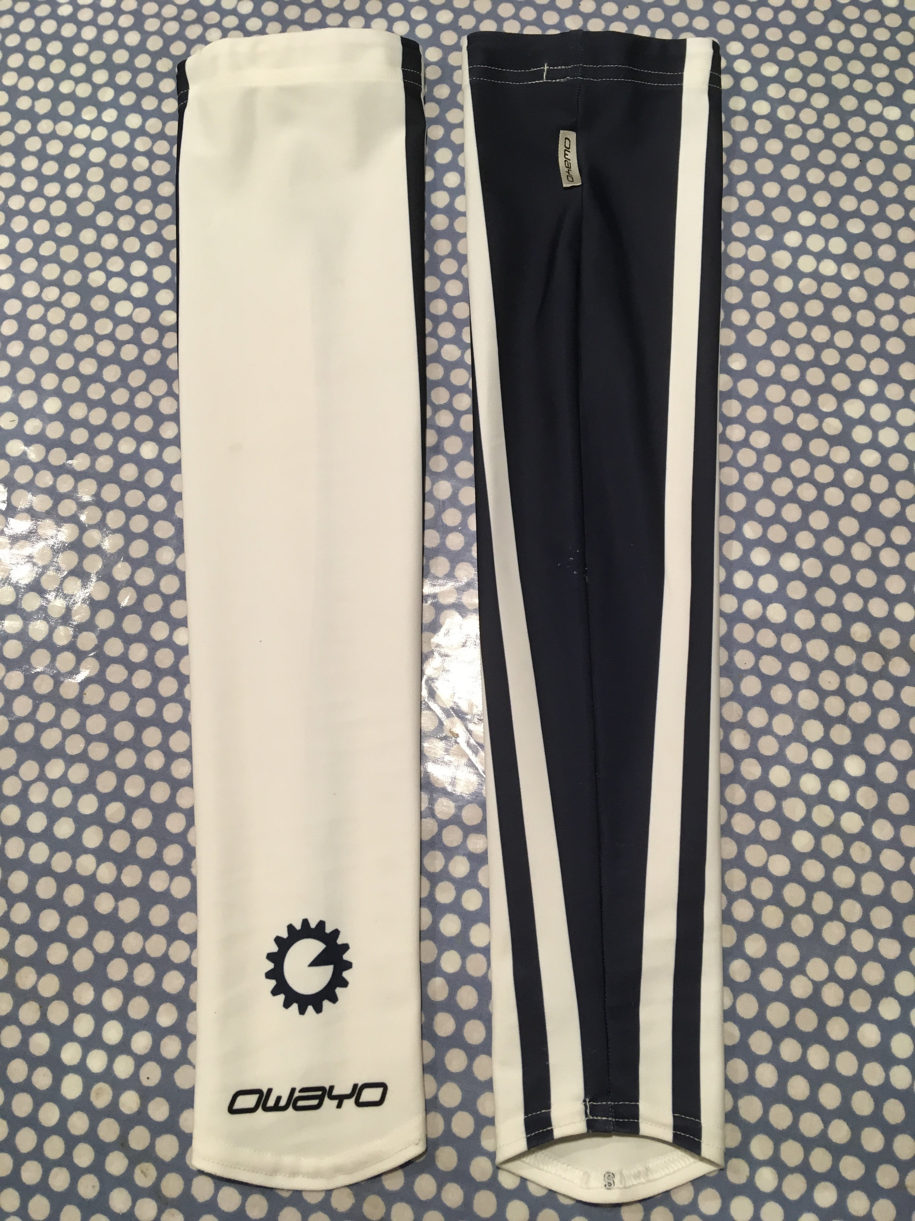 Arm Warmers - navy/white 00008
