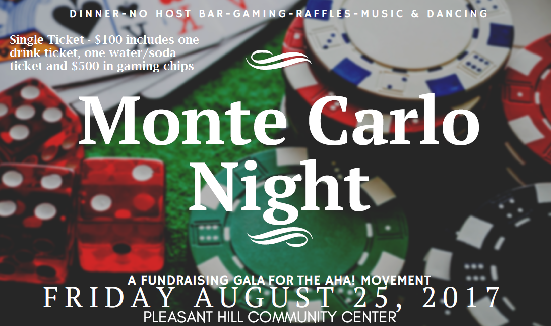 A Single Ticket - Monte Carlo Night - August 25, 2017 00000