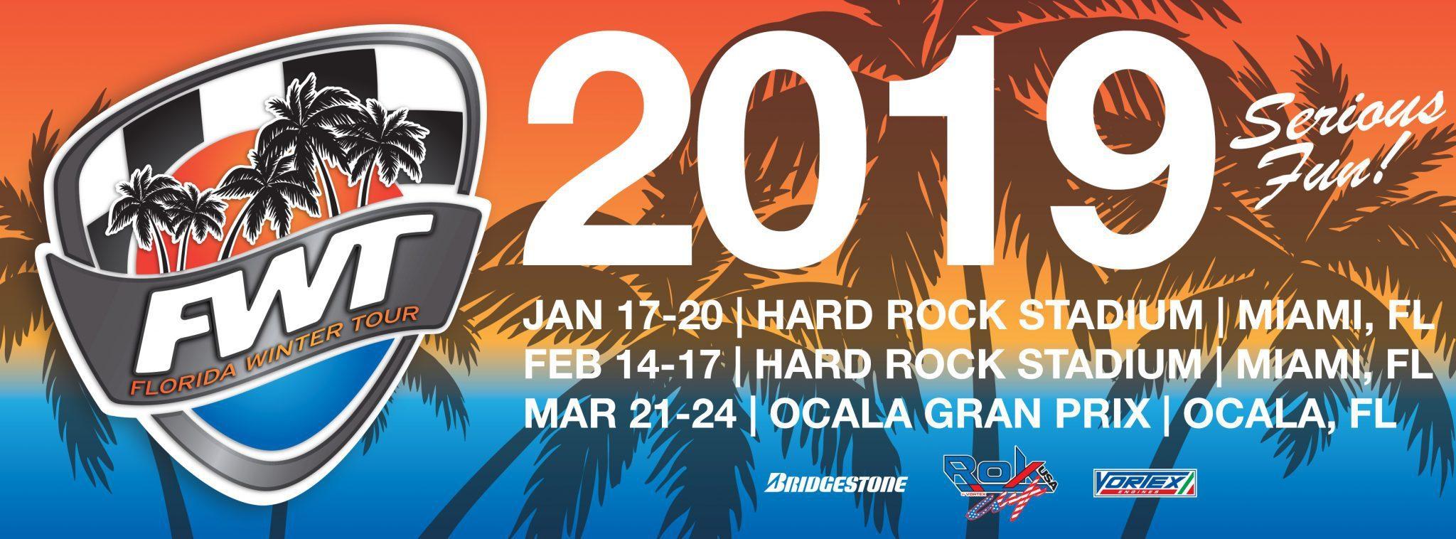2019 Florida Winter Tour Photo Package - 1 Race 00011