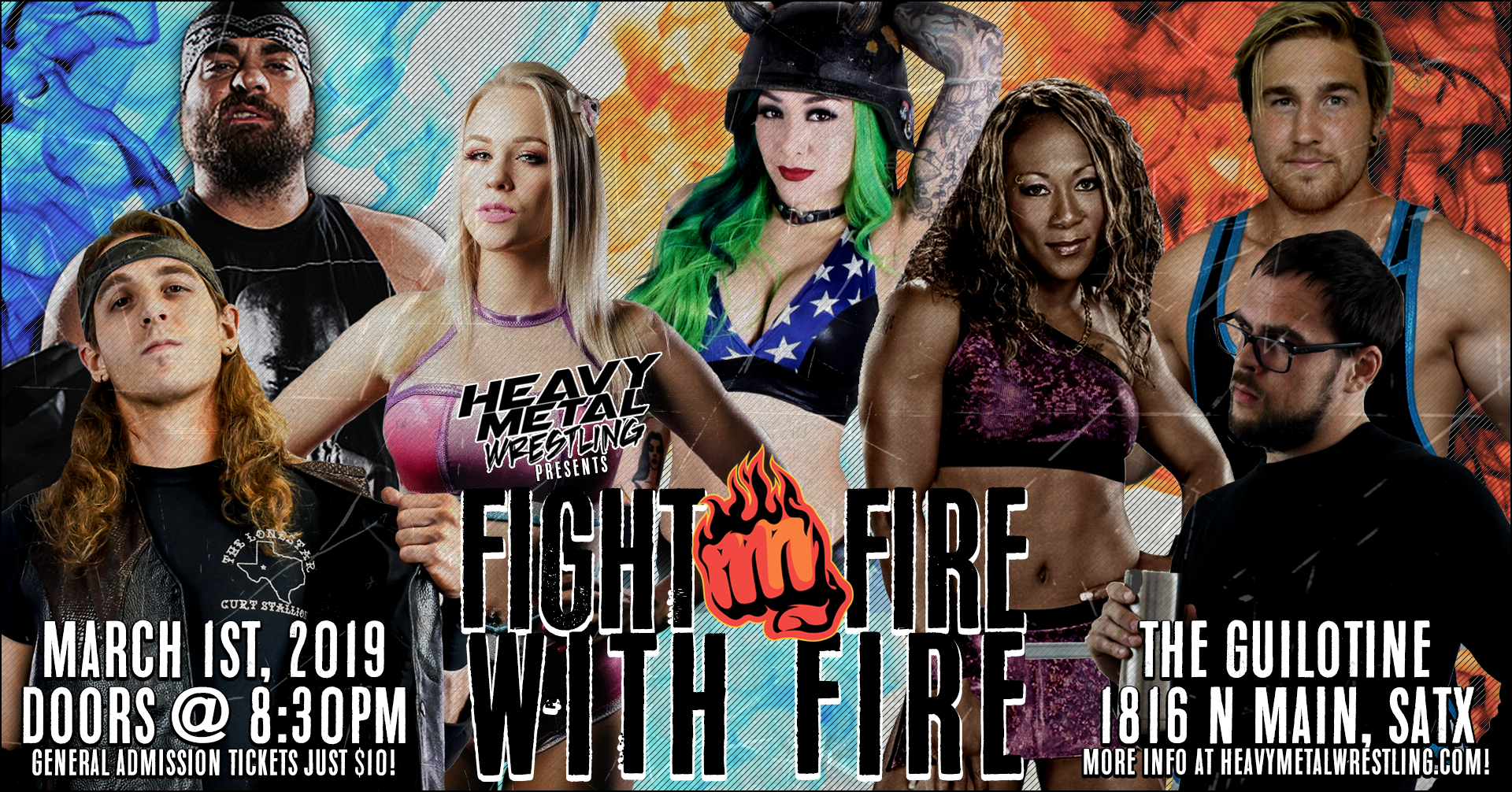 """""""Fight Fire with Fire"""" -  General Admission Tickets 00017"""