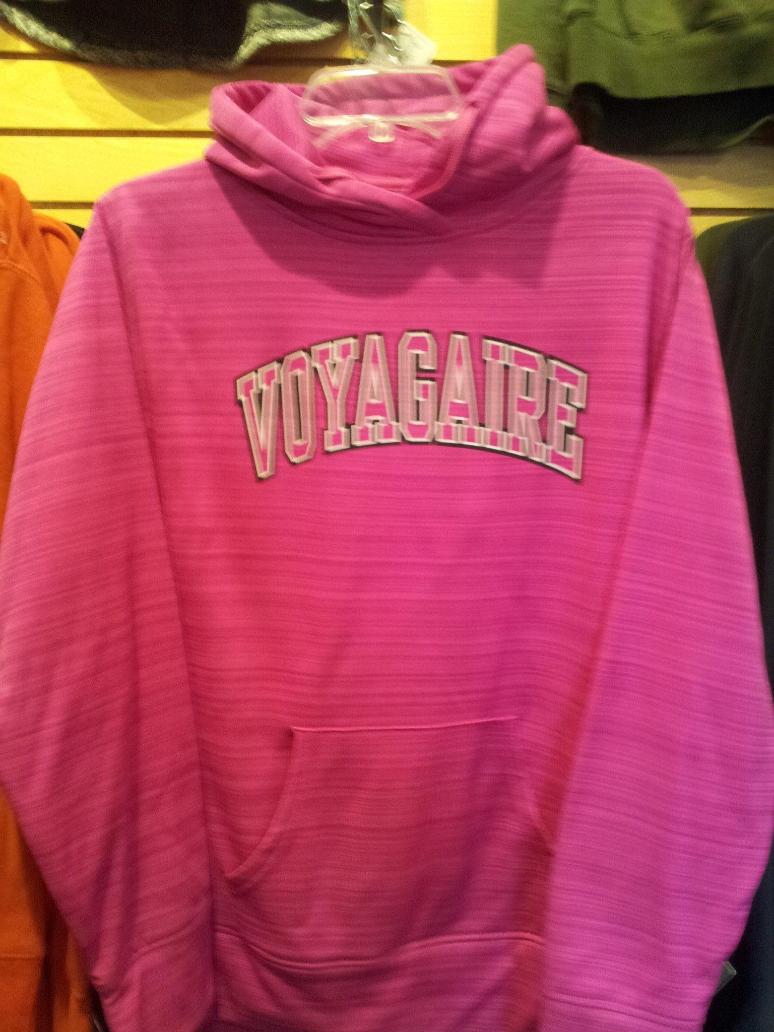 Bright Pink Voyagaire Hoodie BPHD
