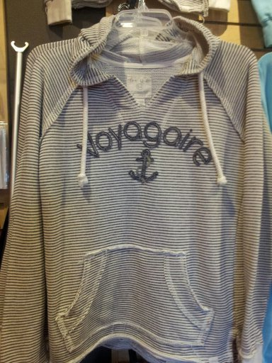 Nautical Stripe Voyagaire Hoodie NSVH