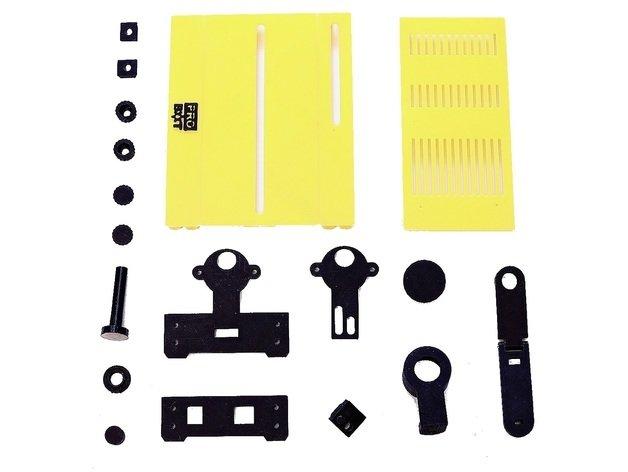 Комплект пластиковых деталей для Egg Painter Pro Mini 00000