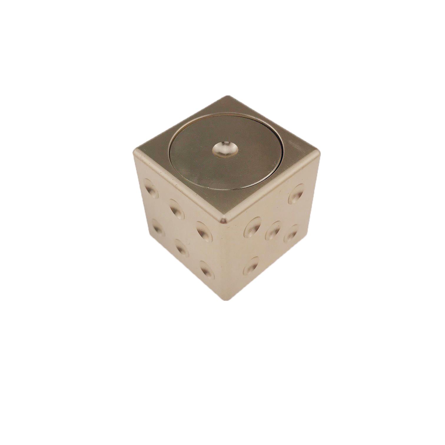 Спиннер StreetGo Игральный Куб Золотистый SGSMCG4989