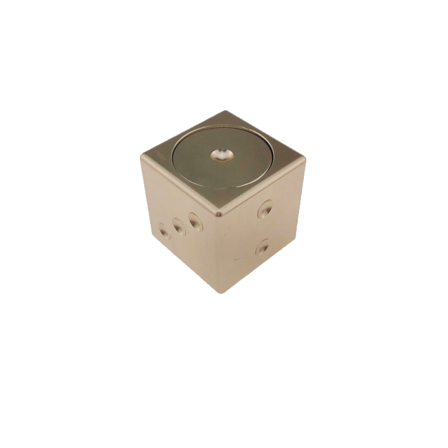 Спиннер StreetGo Игральный Куб Золотистый