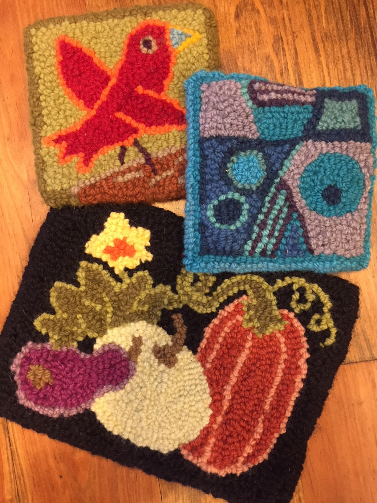 Punch Needle Rug Hooking Workshop with Holly Berry 2018-RUHK