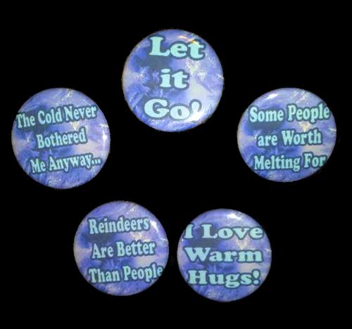 Frozen-Themed Button Set BD-001