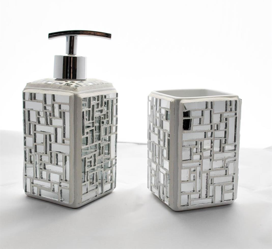 Mirrored Bathroom Set 00015