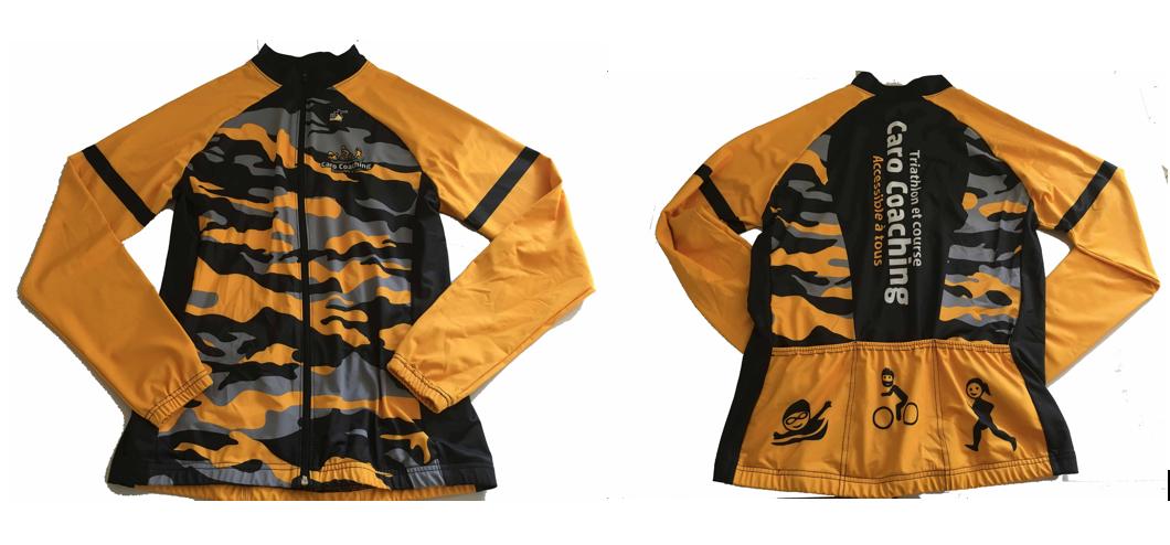 Manteau avec 3 poches arrières 1VEST-TRI
