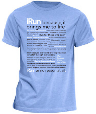 The Blue iRun T-Shirt