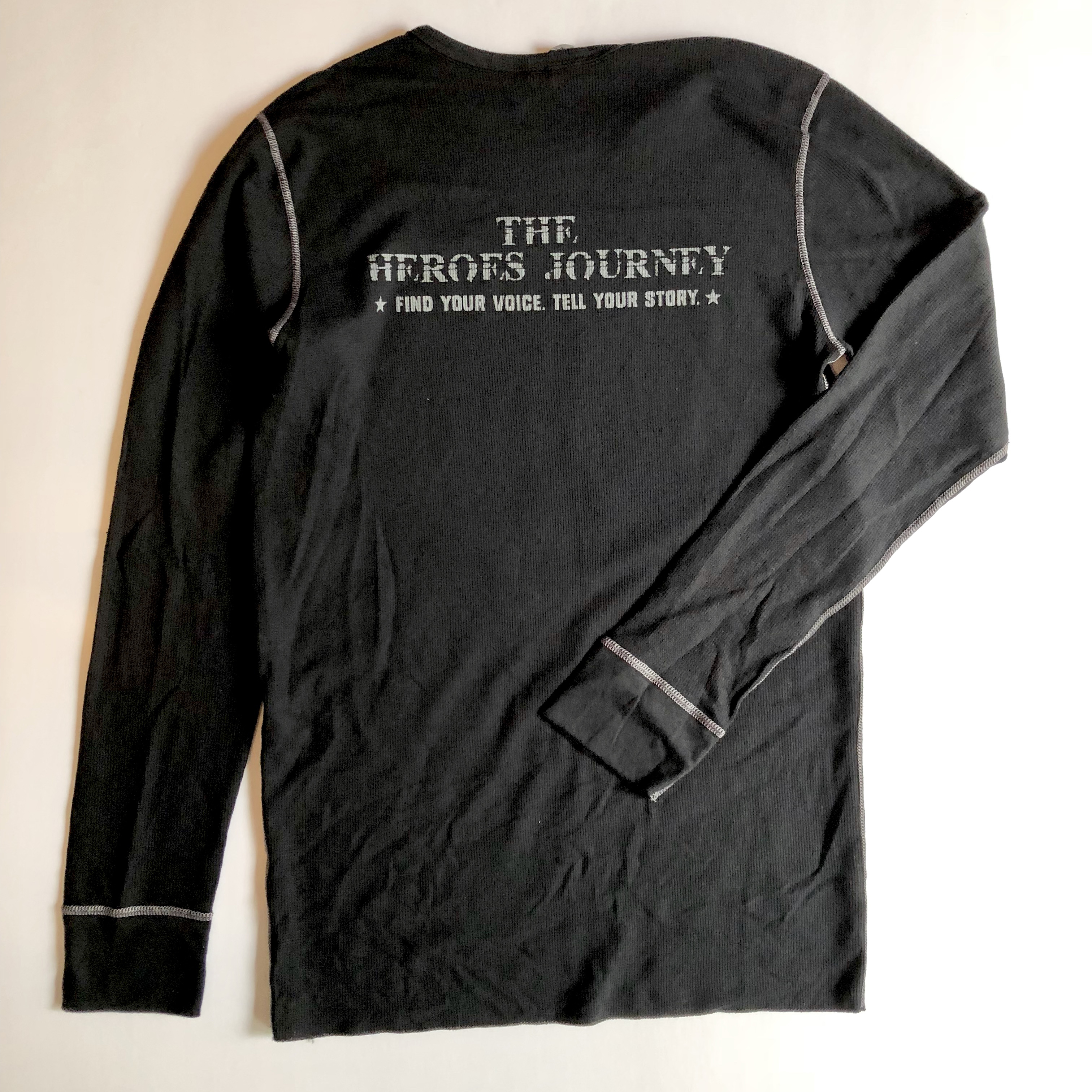 The Heroes Journey Long Sleeve T-Shirt - Black