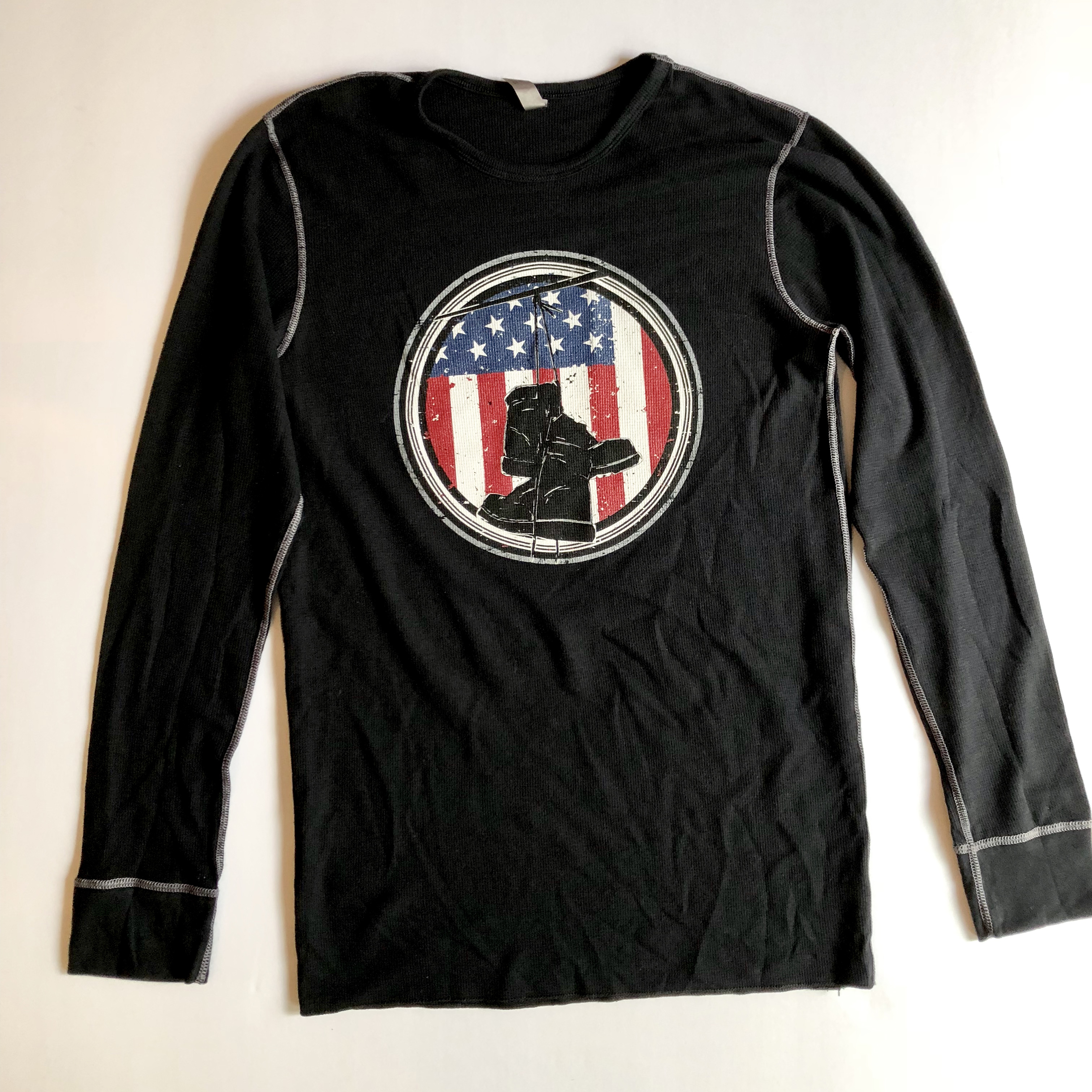 The Heroes Journey Long Sleeve T-Shirt - Black 00006