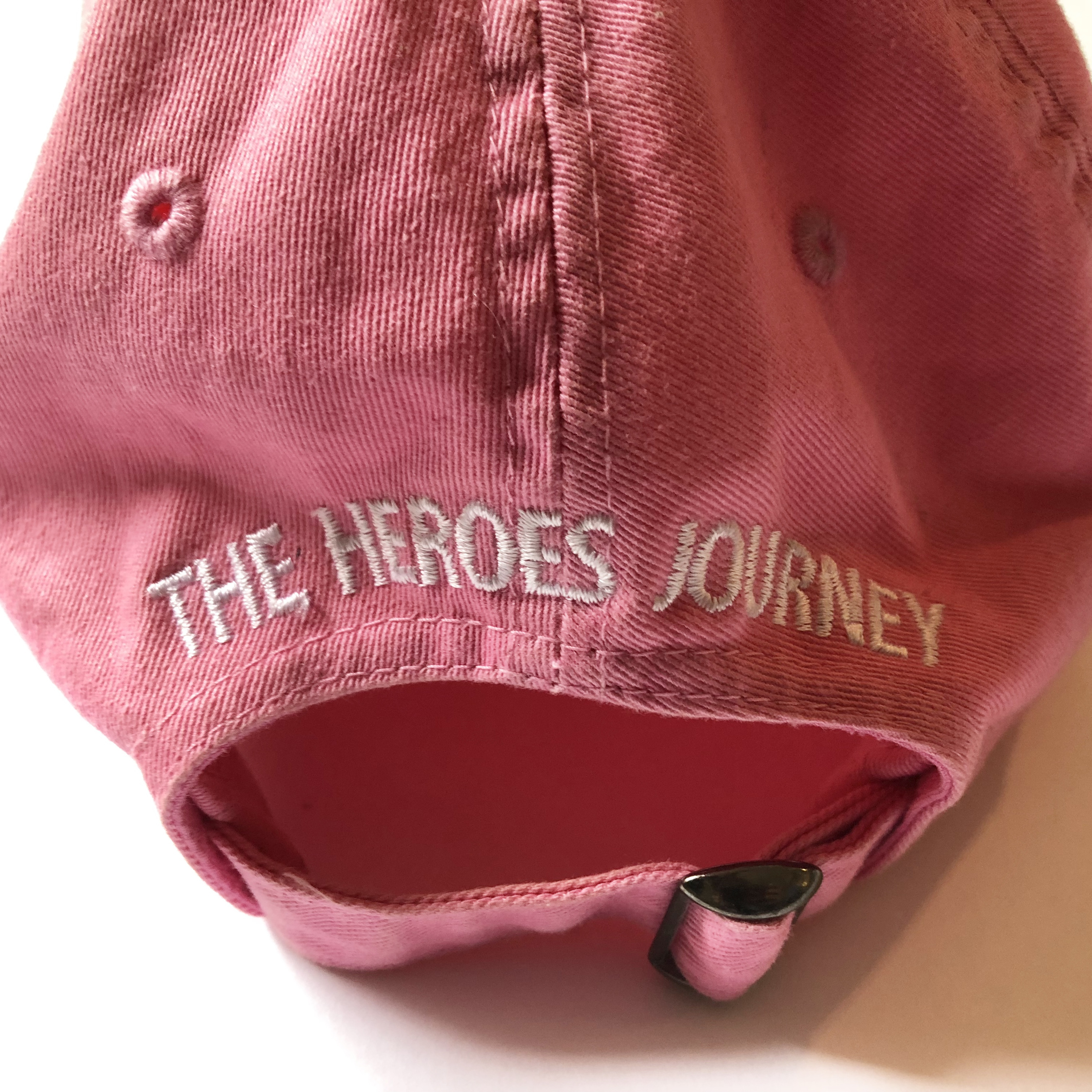 The Heroes Journey Women's Ball Cap - Pink