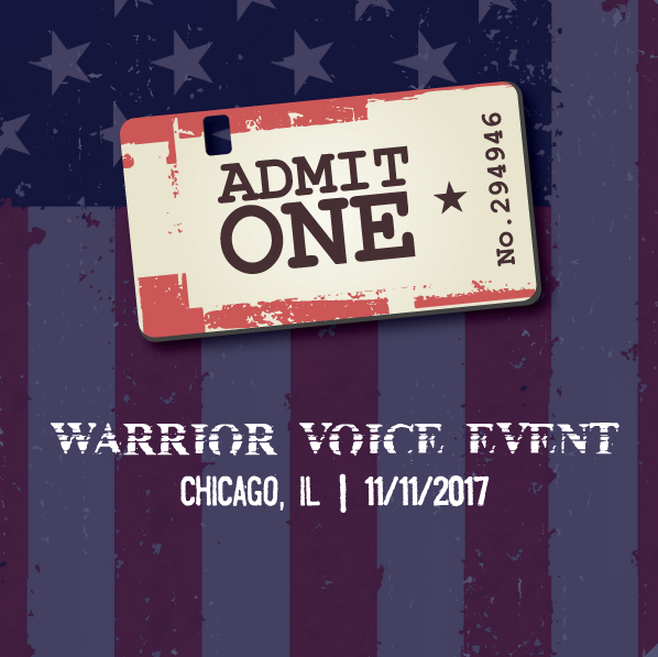 WARRIOR VOICE EVENT TICKET 00004