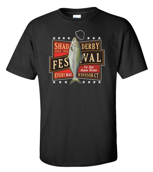 Official Windsor Shad Derby T-shirt (Black) 00001