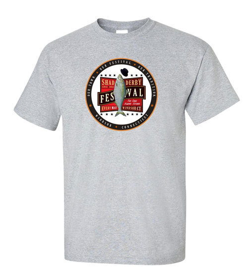 Official Windsor Shad Derby T-shirt (Grey) 00002