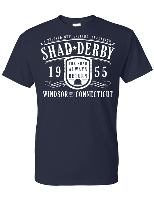 Official Shad Derby T-shirt (Blue) 00000