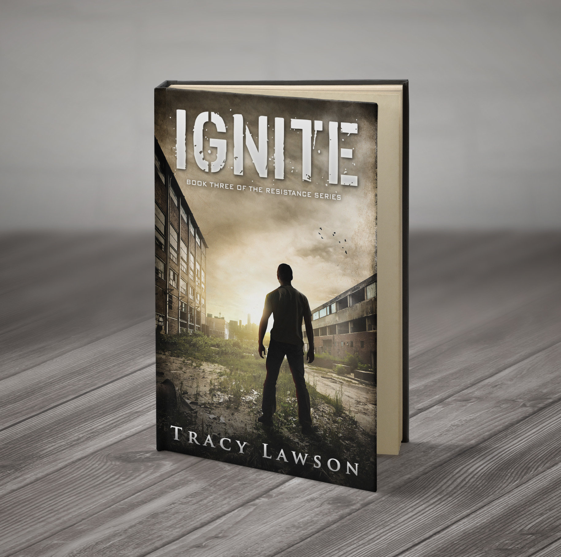 Ignite: Book Three of the Resistance Series (signed) 00002