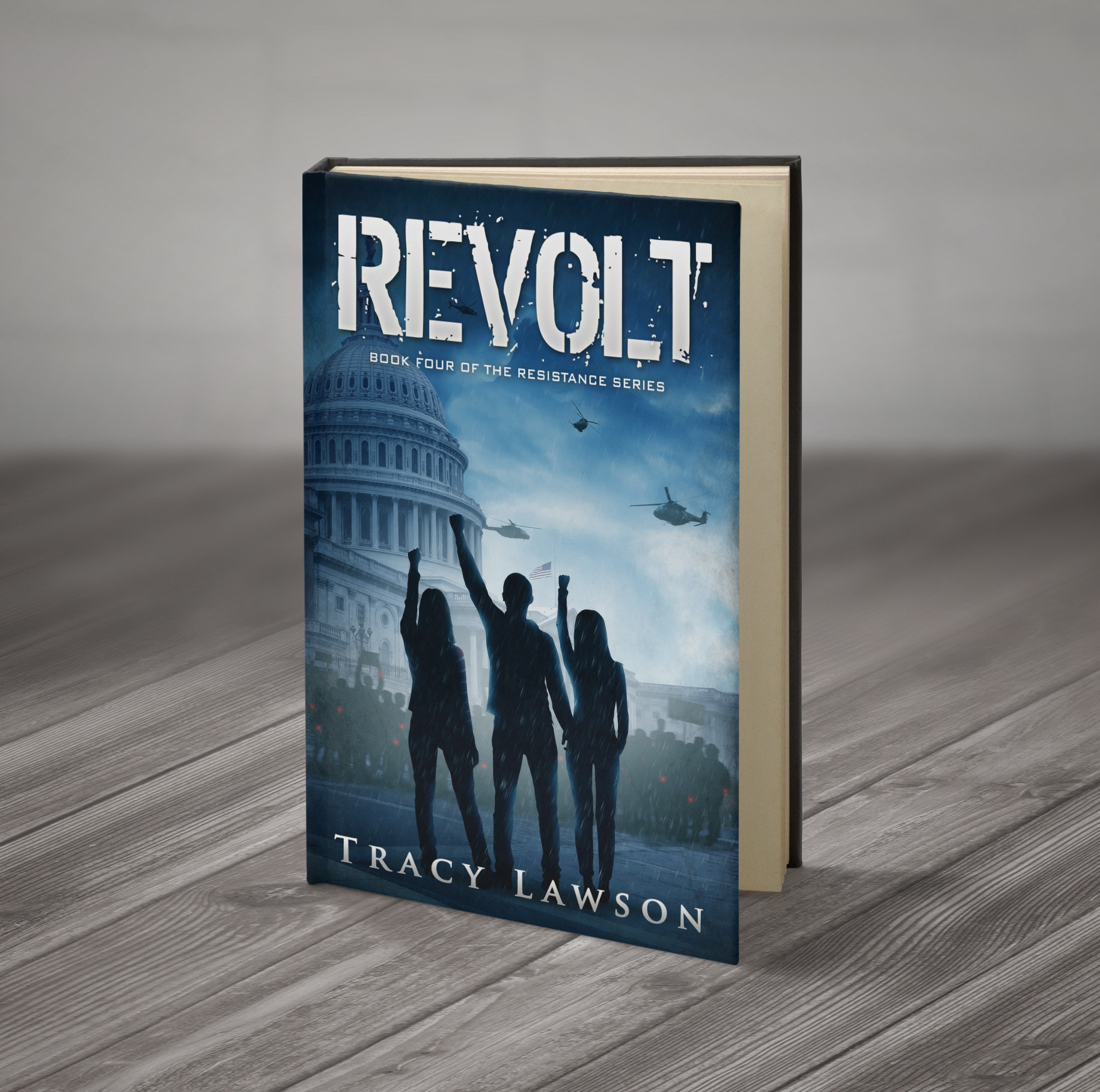Revolt: Book Four of the Resistance Series (signed) (Available after July 18) 00003