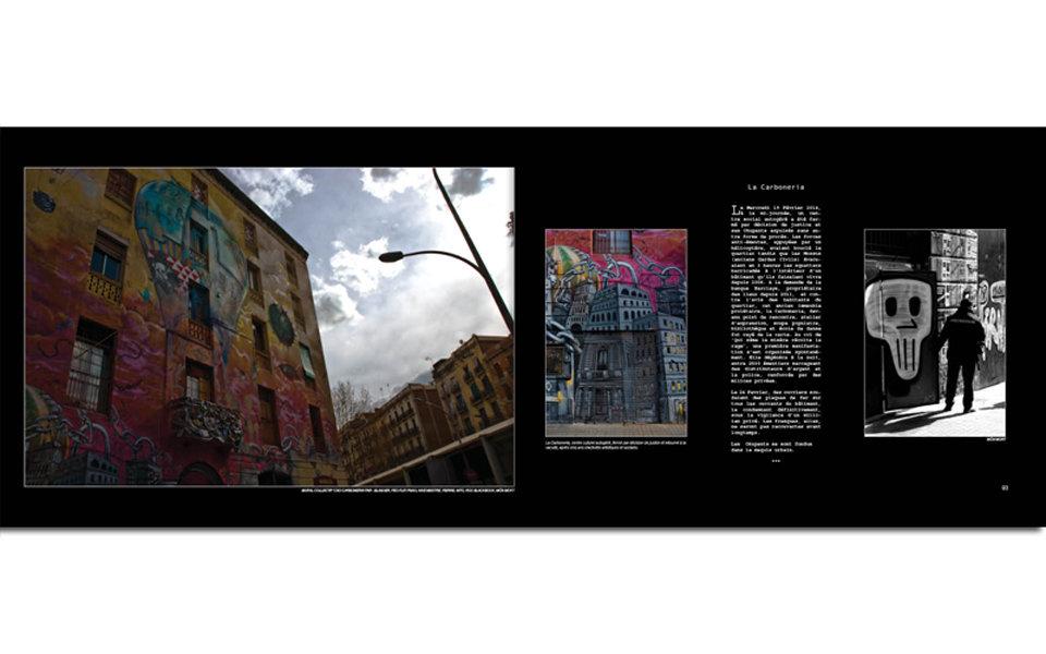 Livre : 'Indios de Barcelona' (relié)