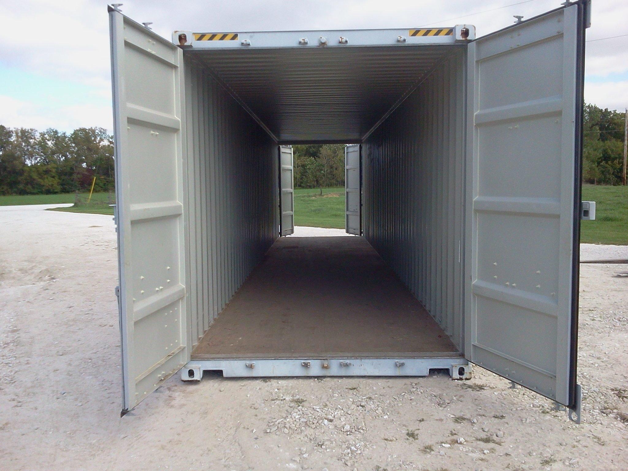 40' High Cube One Trip Double Door (New) 9