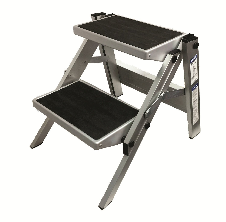Double Folding Portable Caravan Step Ladder Caravan Amp Rv