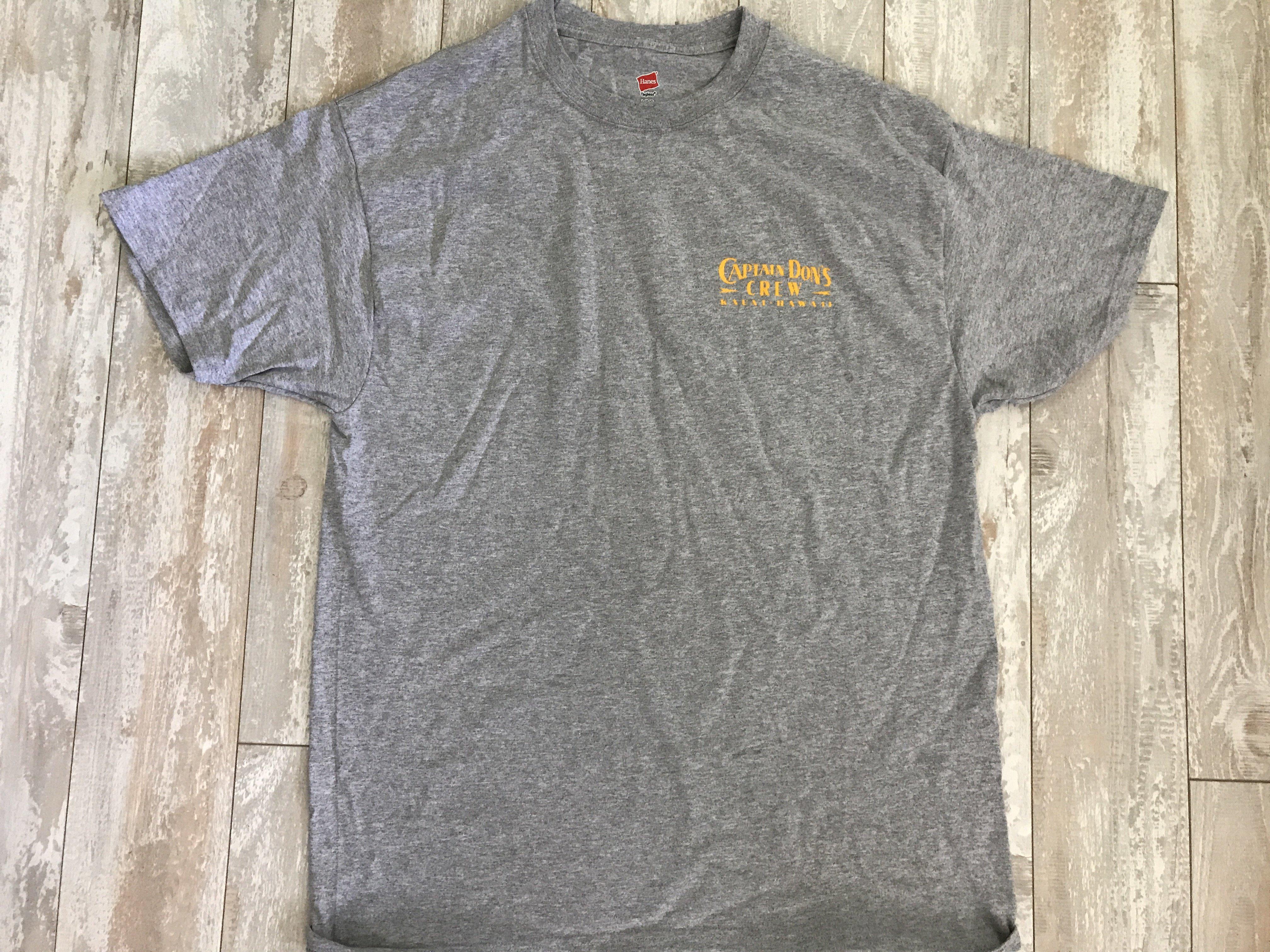 Captain Don's Sportfishing T-Shirt Grey 00001