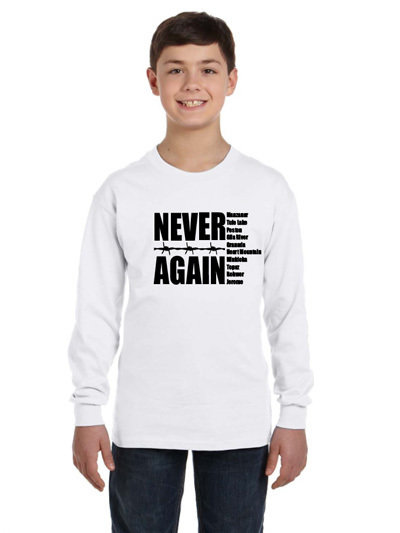 "Youth ""Never Again"" Tee 003"