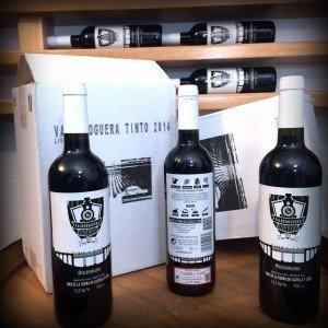 Caja de 6 botellas Valdenoguera Roble 2014. Precio por botella 4,90€ 00001