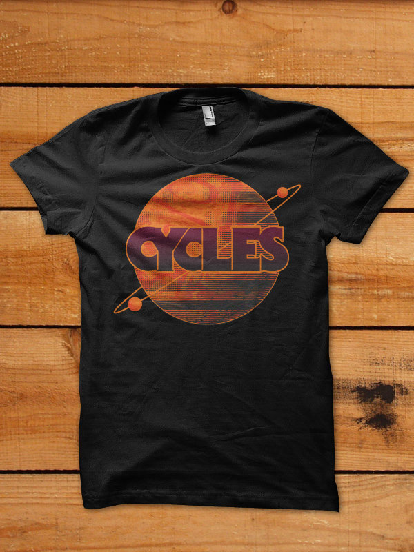 Cycles Planet Shirt - Black 00008