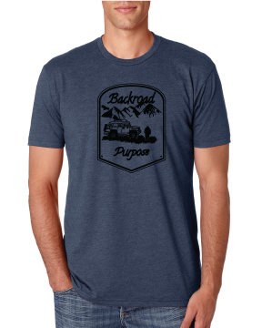 BRP Graphic T-Shirt BRP INDIGO