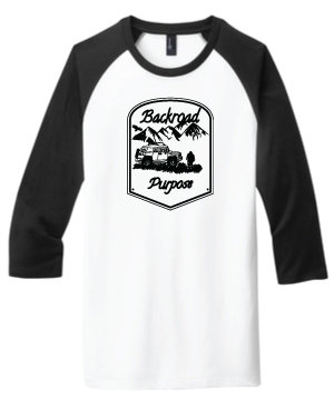 BRP Graphic Baseball T-Shirt BRB BASEBALL-T WHITE