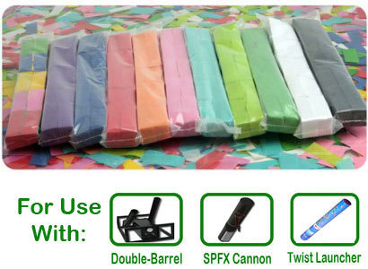 "Tissue Confetti for 2"" Barrels 000011"