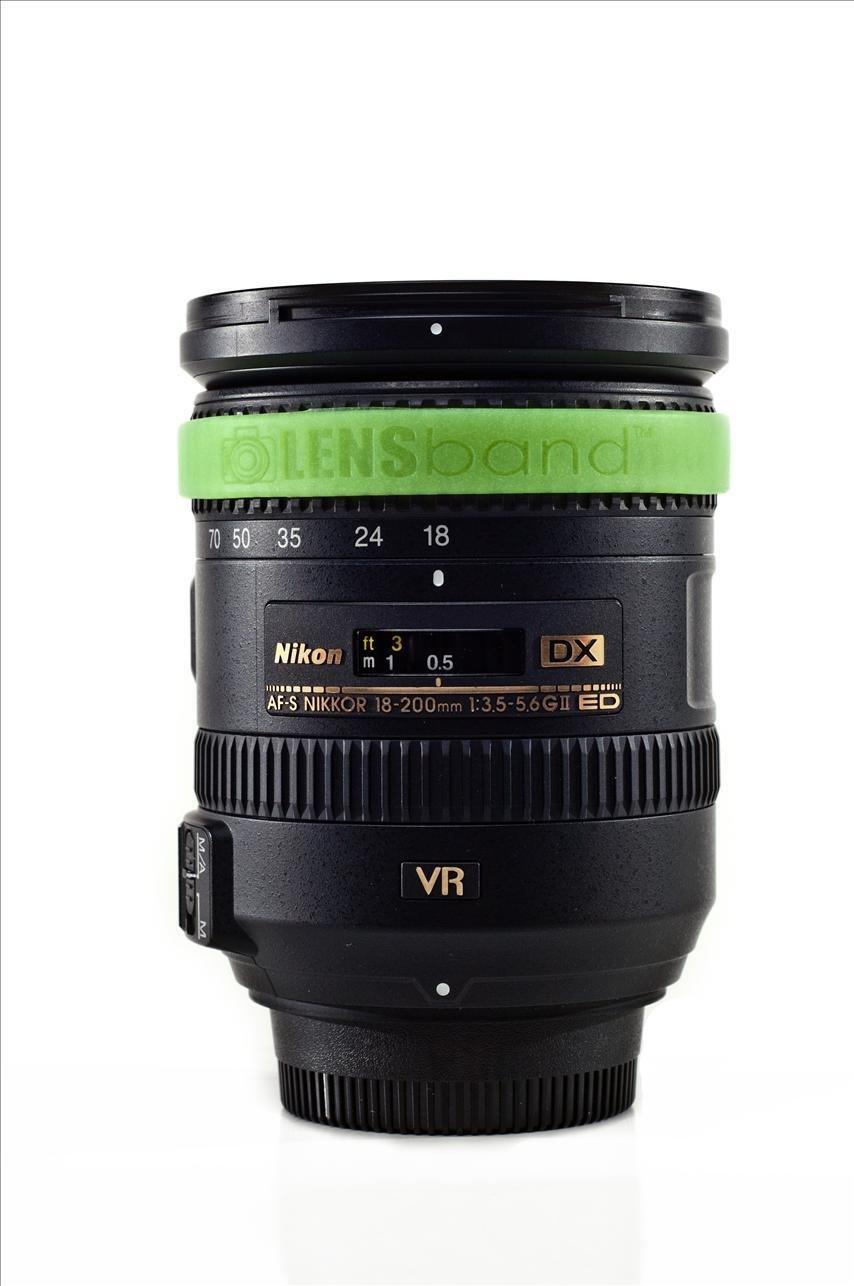 Glow Green-Standard  (fits DSLR Lenses) Sku: 628586557956