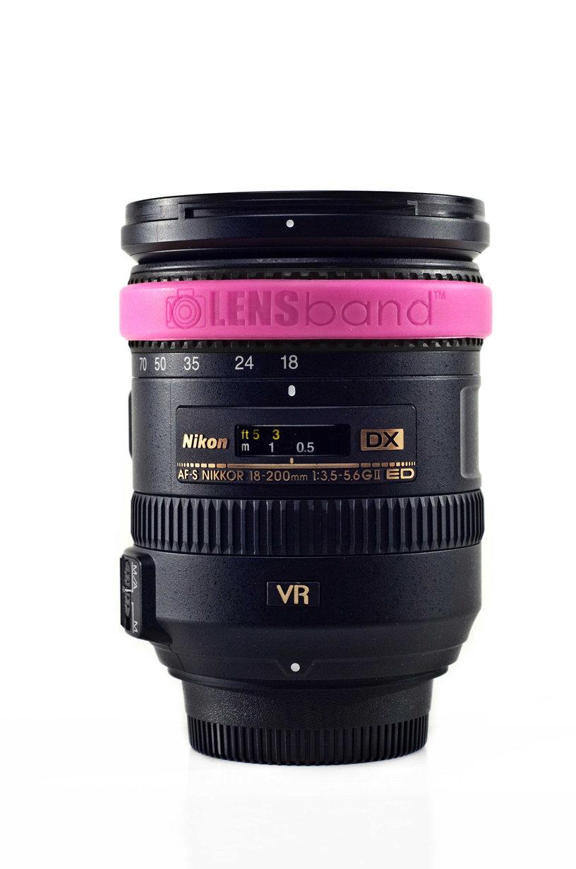 Hot Pink-Standard  (fits DSLR Lenses) Sku: 628586850309
