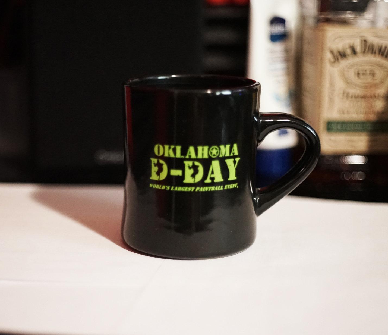 Oklahoma D-Day Coffee Mug 001