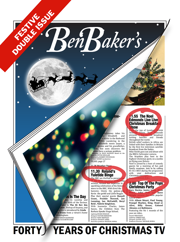 Ben Baker's Festive Double Issue - Forty Years Of Christmas TV