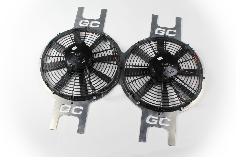 """12"""" Dual Fan Package"""