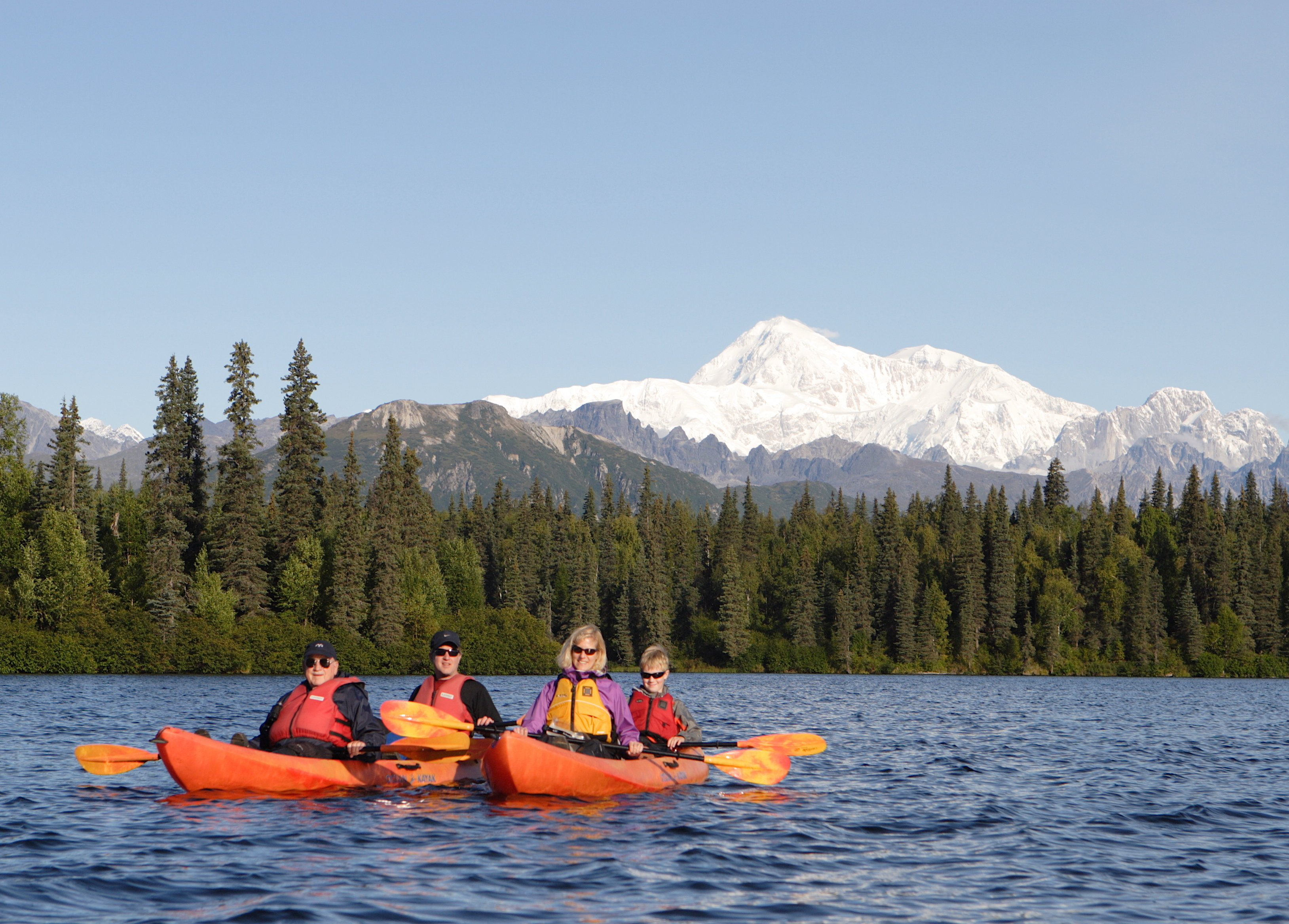 Denali Kayak Tour - 1/2 Day - Adult T.K.HD.A