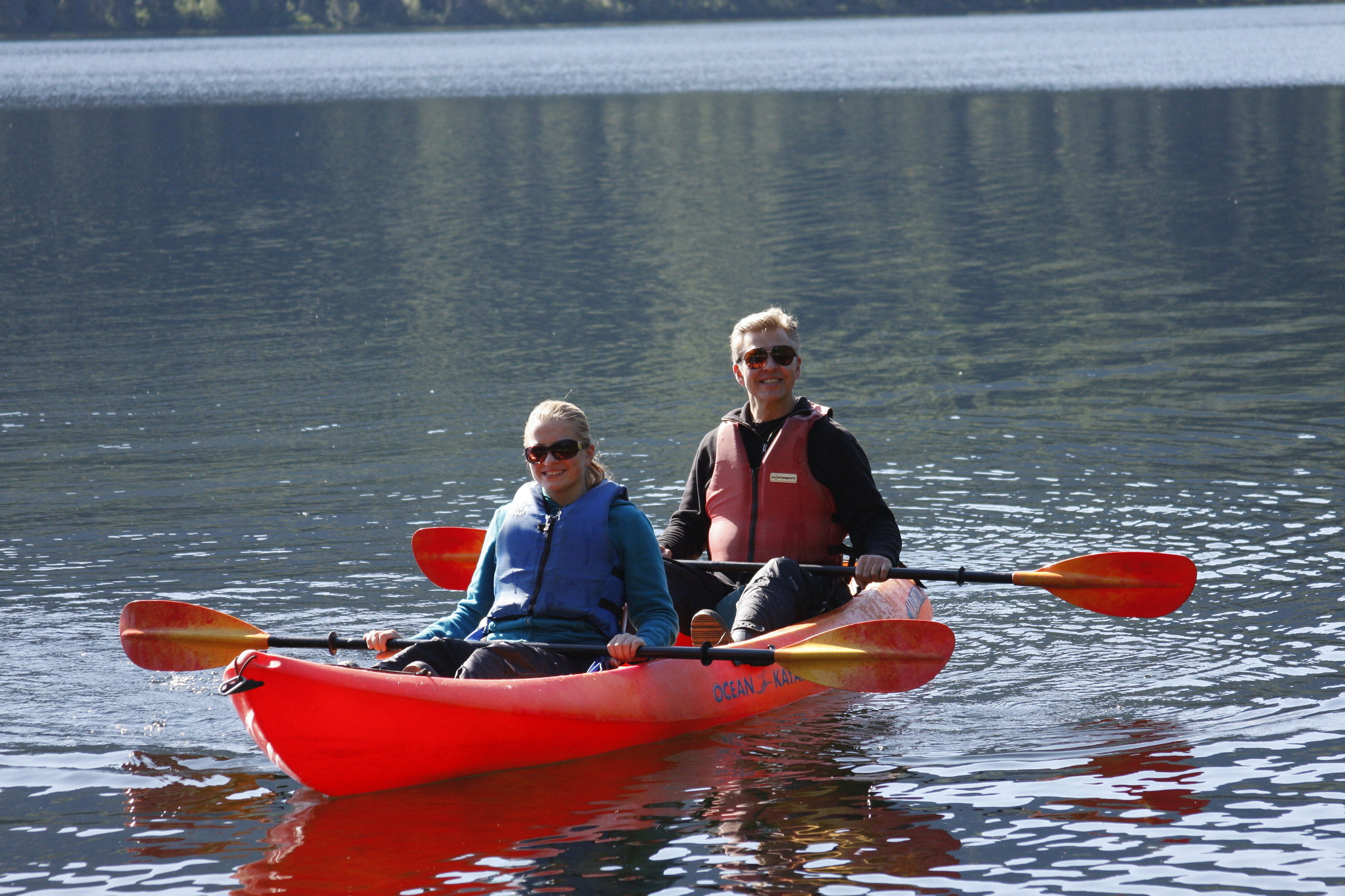 Denali Kayak Tour - 1/2 Day
