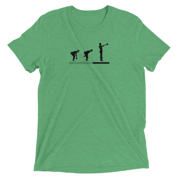 "Kettlebell T-Shirt- ""Loading Kettlebell Swings"""