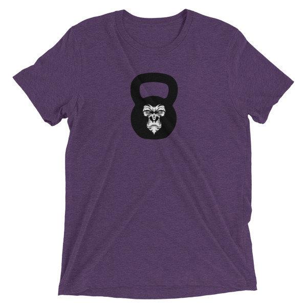 """Kettlebell T-Shirt- """"Gorilla Kettlebell"""" 00006"""