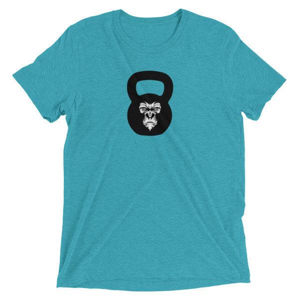 """Kettlebell T-Shirt- """"Gorilla Kettlebell"""""""